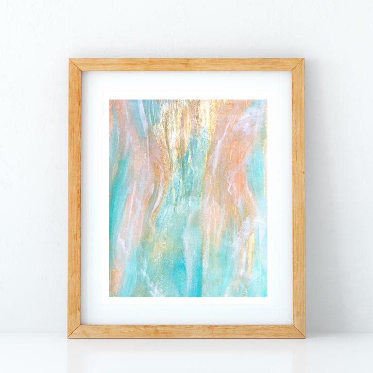 Sea of Love Art Print by Jan Tetsutani