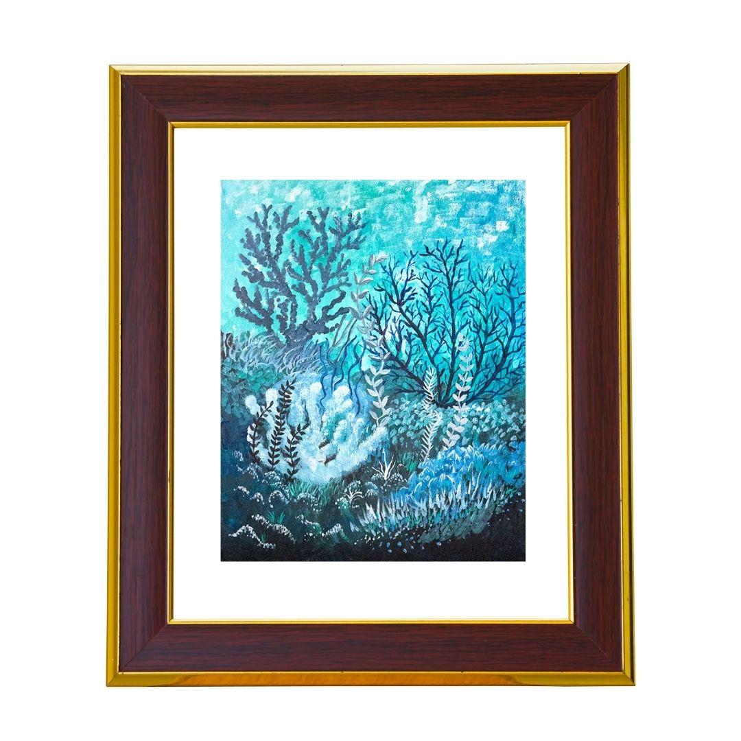 Cool Coral Art Print