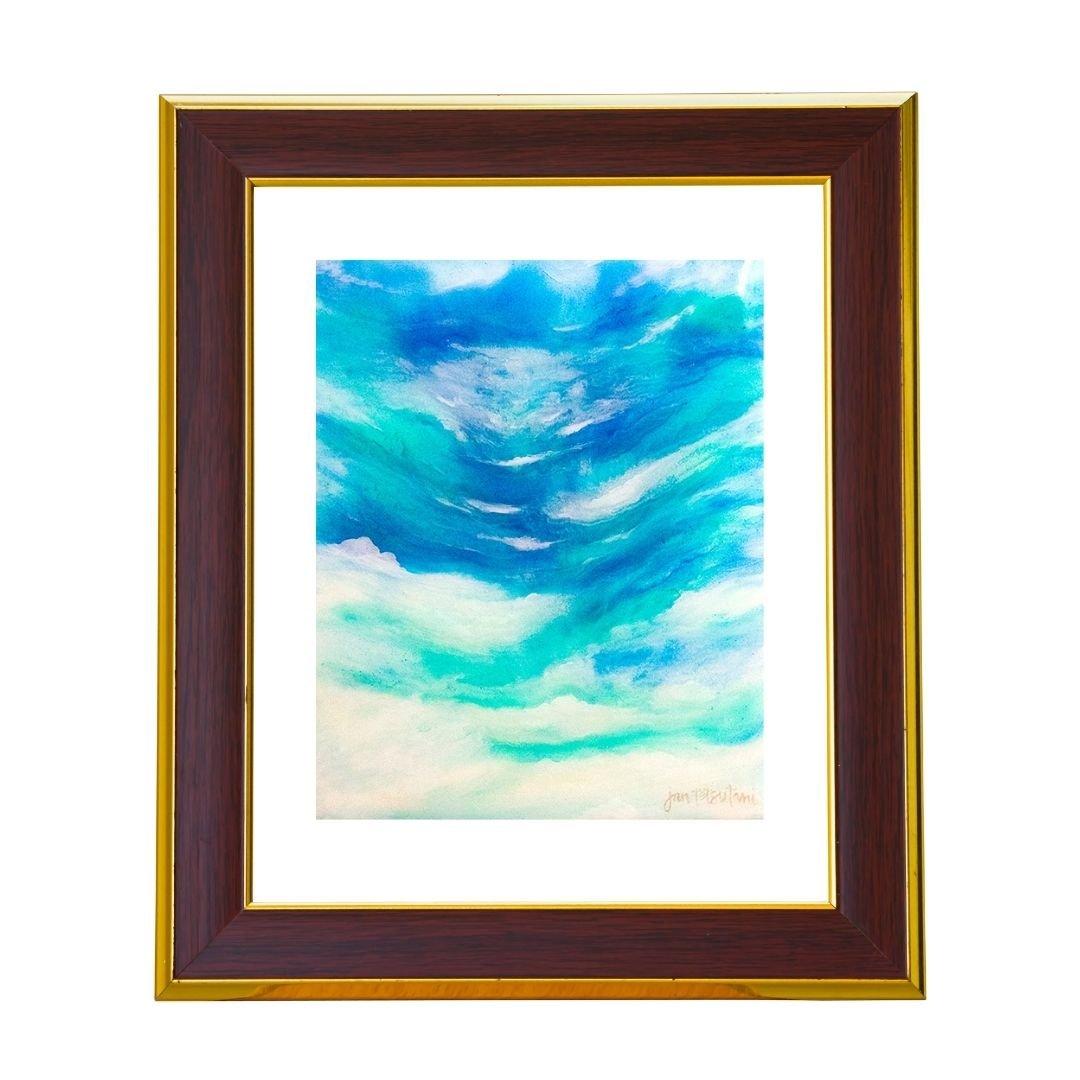 Fine art print titled 'Intima Sea' by Jan Tetsutani