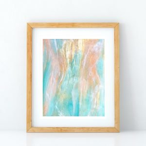 Sea of Love art print by Jan Tetsutani