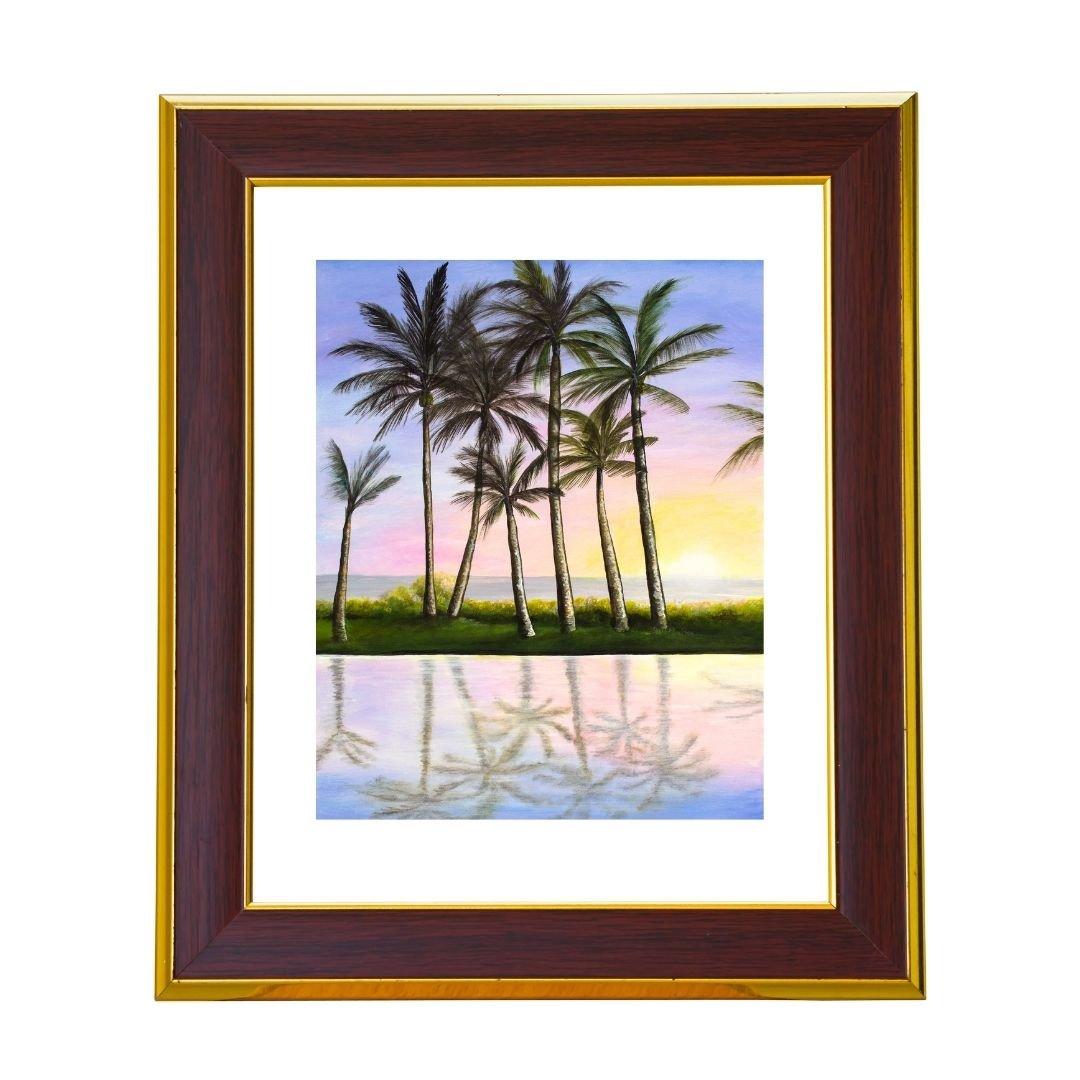 Take Home a Sunset Art Print by Jan Tetsutani