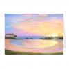 Ko Olina Sunset Greeting Card by Jan Tetsutani