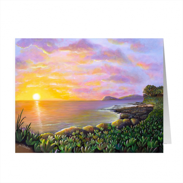 Secret Lagoon, Ko'Olina Greeting Card