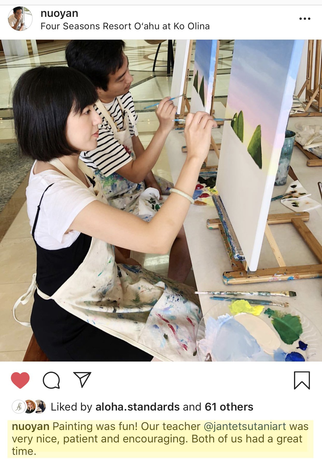 What people are saying about Jan Tetsutani's Painting Workshop