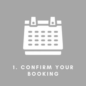 Confirm your Booking