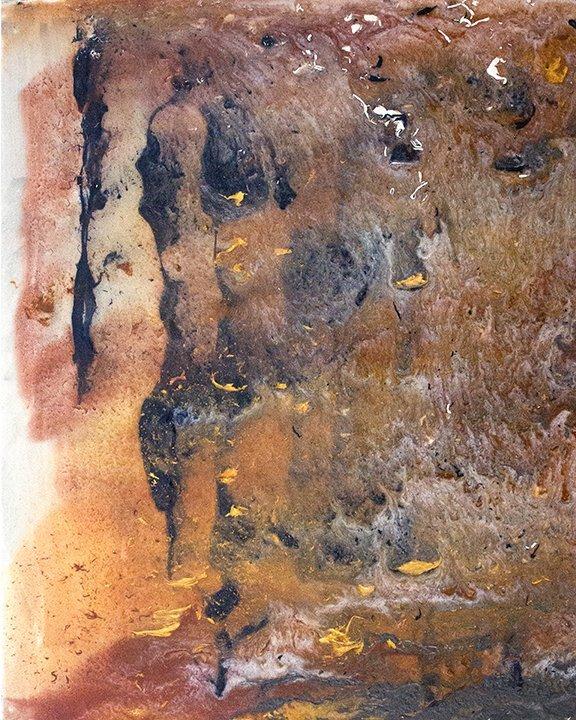 Abstract Painting by Jan Tetsutani