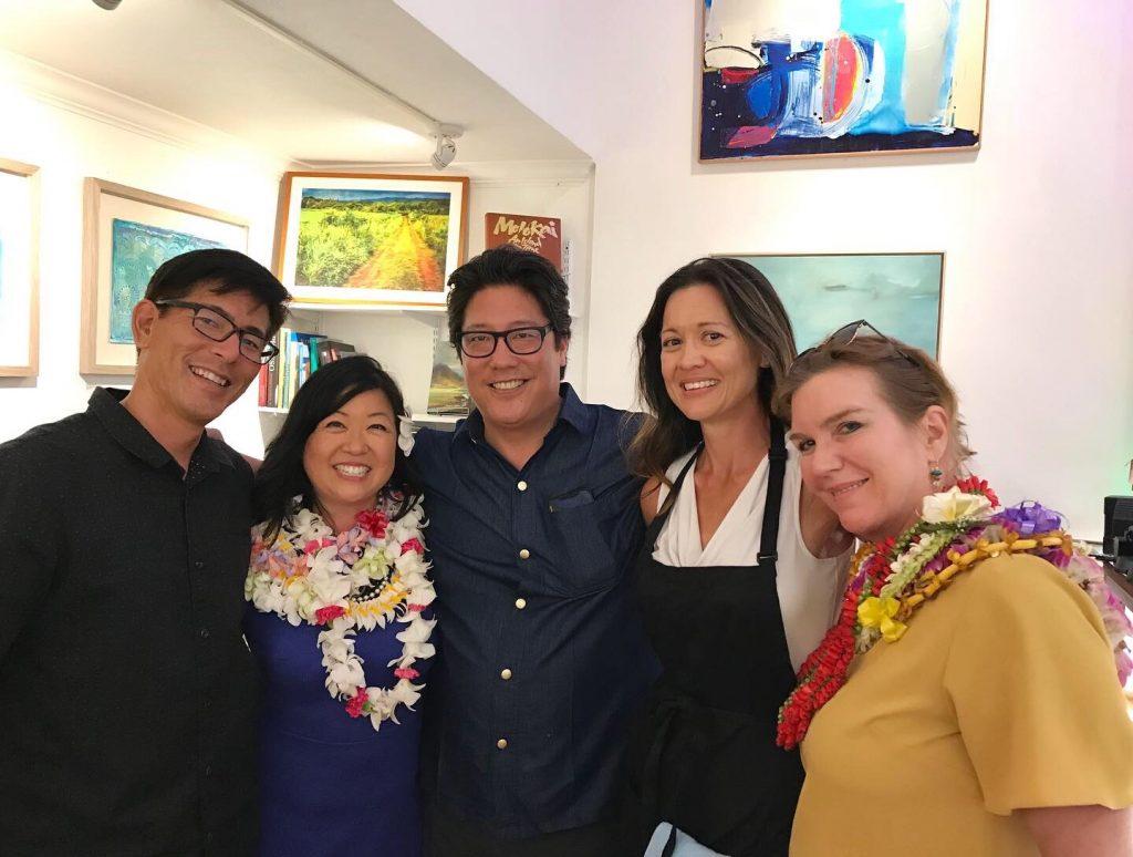 Manoa Gallery Reception