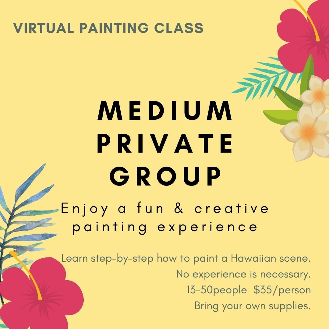 Virtual Painting Party Graphic