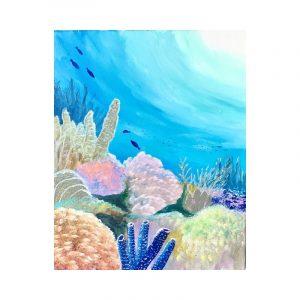 Underwater Painting Online Workshop by Jan Tetsutani