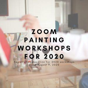 2020 Zoom Painting Workshops