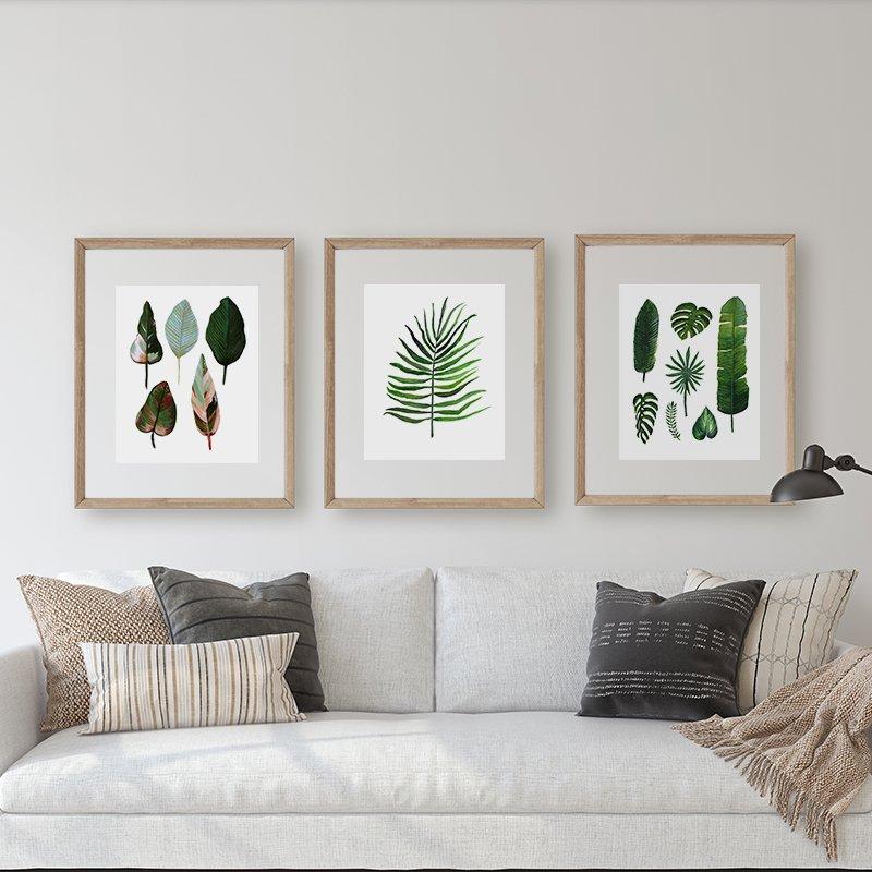 3 set wall art by Jan Tetsutani