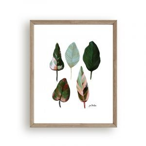 Greenery wall decor