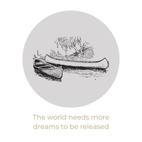 The world needs more dreams to be released