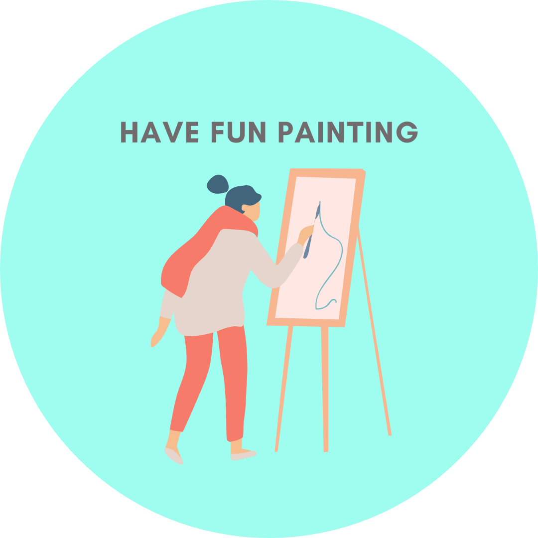 have fun painting icon