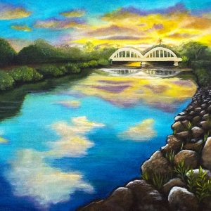 Haleiwa Oahu - Haleiwa River - Art Print
