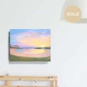 Koolina Sunset Painting by Jan Tetsutani