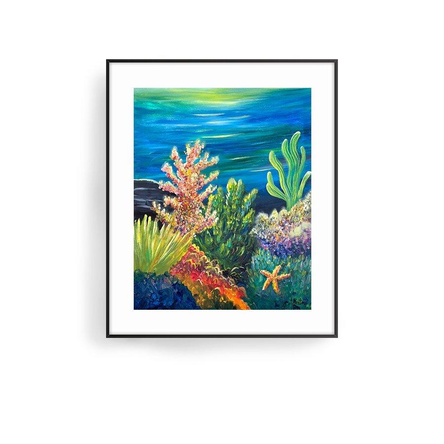 Sea Garden by Jan Tetsutani