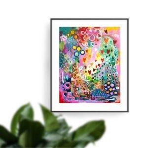 abstract art paintings jan tetsutani